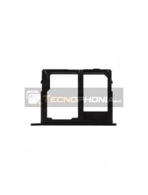 Zócalo de SIM 2 + SD Samsung Galaxy J6 2018 J600F negro