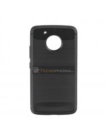 Funda TPU Forcell Carbon Motorola G5 negra
