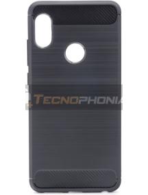 Funda TPU Forcell carbon Xiaomi Redmi Note 5 Pro negra
