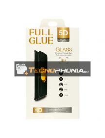 Lámina de cristal templado 5D Huawei Mte 20 negra
