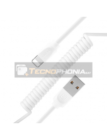 Cable USB Lightninh Remax Radiance RC-117i blanco