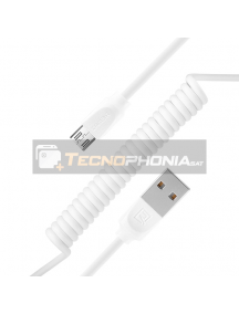 Cable micro USB Remax Radiance RC-117m blanco