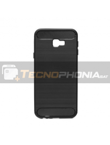 Funda TPU Carbon Samsung Galaxy J4 Plus J415 negra
