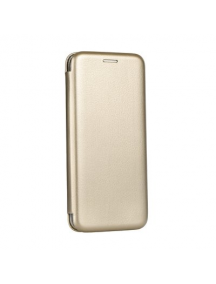 Funda libro Forcell Elegance Xiaomi Redmi 6 dorada