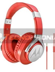 Auriculares bluetooth Motorola Pulse Max rojo