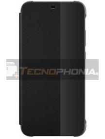 Funda libro S-View Huawei P20 Lite negra