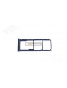 Zócalo de SIM Samsung Galaxy A9 2018 A920F azul