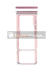 Zócalo de SIM Samsung Galaxy A9 2018 A920F rosa