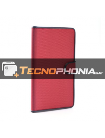 "Funda libro tablet Fancy universal 7"" - 8"" roja"