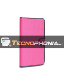 "Funda libro tablet Fancy universal 9"" - 10"" rosa"