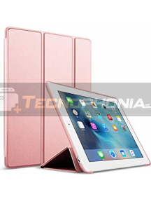 Funda libro smart case iPad 5 rosa