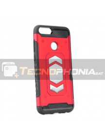 Funda Forcell Magnet Huawei P Smart roja