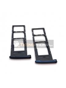 Zócalo de SIM + micro SD Motorola Moto G6 Play versión dual SIM azul