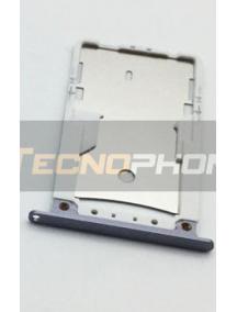 Zócalo de SIM + micro SD Xiaomi Redmi Note 4 - Note 4X gris