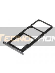 Zócalo de SIM + micro SD Huawei Y6 2018 - Honor 7A - Honor 7C negro