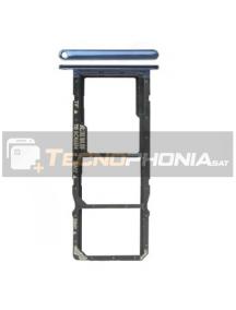 Zócalo de SIM + micro SD Huawei Y6 2018 - Honor 7A - Honor 7C azul