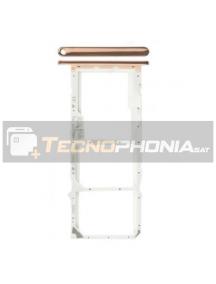Zócalo de SIM + micro SD Huawei Y6 2018 - Honor 7A - Honor 7C dorado