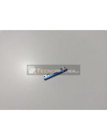 Botón externo de volumen Huawei Honor 10 azul