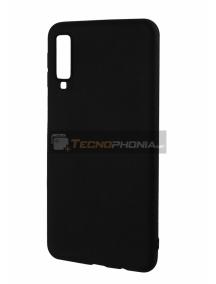 Funda TPU Matt Samsung Galaxy A7 2018 A750 negra