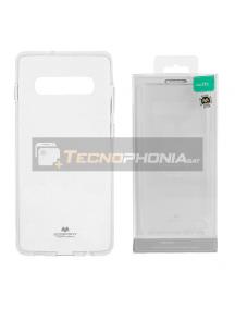 Funda TPU Goospery Samsung Galaxy S10 G973 transparente