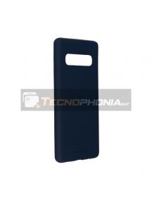 Funda TPU Goospery Soft Samsung Galaxy S10 G973 azul marino