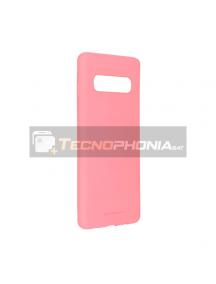 Funda TPU Goospery Soft Samsung Galaxy S10 G973 rosa