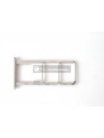 Zócalo de SIM + micro SD Huawei Honor 7s dorado
