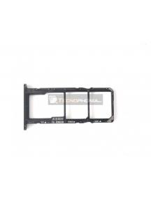 Zócalo de SIM + micro SD Huawei Honor 7s negro
