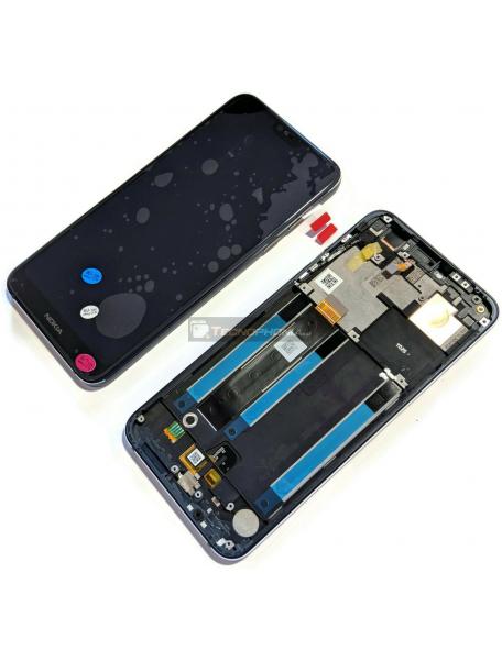 Display Nokia 7.1 2018 azul