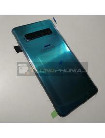 Tapa de batería Samsung Galaxy S10 G973F prism green