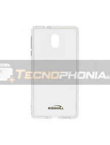 Funda TPU Kisswill Samsung J4 Plus J415 transparente