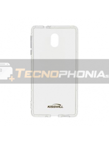 Funda TPU Kisswill Air Samsung Galaxy A6 Plus A605 transparente