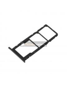 Zócalo de SIM + SD Huawei Honor 8X negro