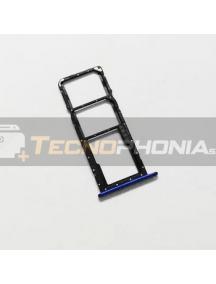 Zócalo de SIM + SD Huawei Honor 8X azul