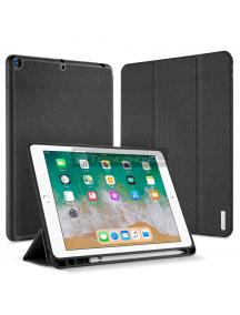 Funda libro Dux Ducis con soporte de pen iPad Air - Air 2 - 9.7 2017 - 2018 negra