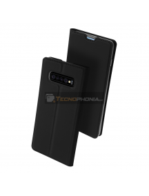 Funda libro Dux Ducis Samsung Galaxy S10 G973 negra