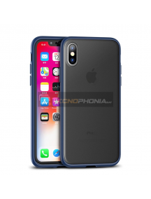 Funda TPU iPaky Cucoloris iPhone XS Max azul