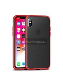 Funda TPU iPaky Cucoloris iPhone XS Max roja