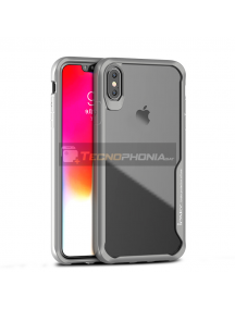 Funda TPU iPaky Survival iPhone XS Max gris