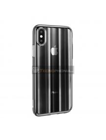Funda Baseus Aurora iPhone X - XS negra