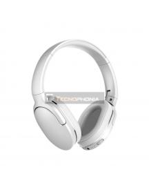 Manos libres auriculares bluetooth Baseus Encok D02 blanco
