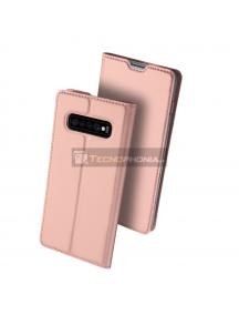 Funda libro Dux Ducis Samsung Galaxy A9 2018 A920 rosa
