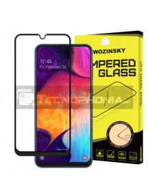 Lámina de cristal templado 5D Wozinsky Samsung Galaxy A50 - 30 negro