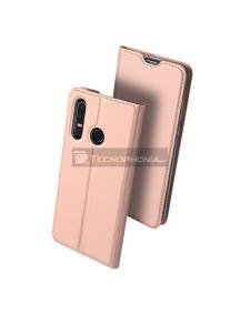 Funda libro Dux Ducis Huawei P30 Lite rosa