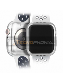 Protector TPU Dux Ducis 2X Apple Watch 4 44mm plata
