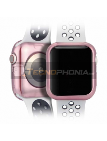 Protector TPU Dux Ducis 2X Apple Watch 4 44mm rosa
