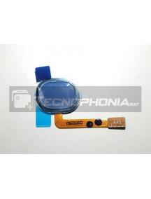 Cable flex de lector de huella Samsung Galaxy A40 A405F azul