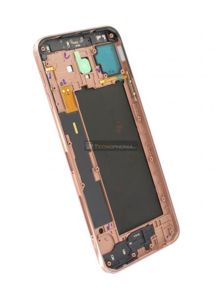 2760d460821 Carcasa trasera Samsung Galaxy J4 Plus J415 dorada