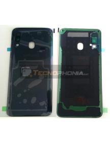 Tapa de batería Samsung Galaxy A40 A405F negra