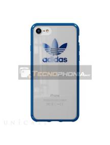 Funda TPU Adidas CH8785 iPhone 7 - 8 transparente - azul metálico